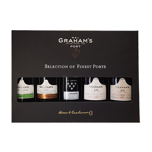 Graham's Port Selection in giftpack 5 x 20 cl