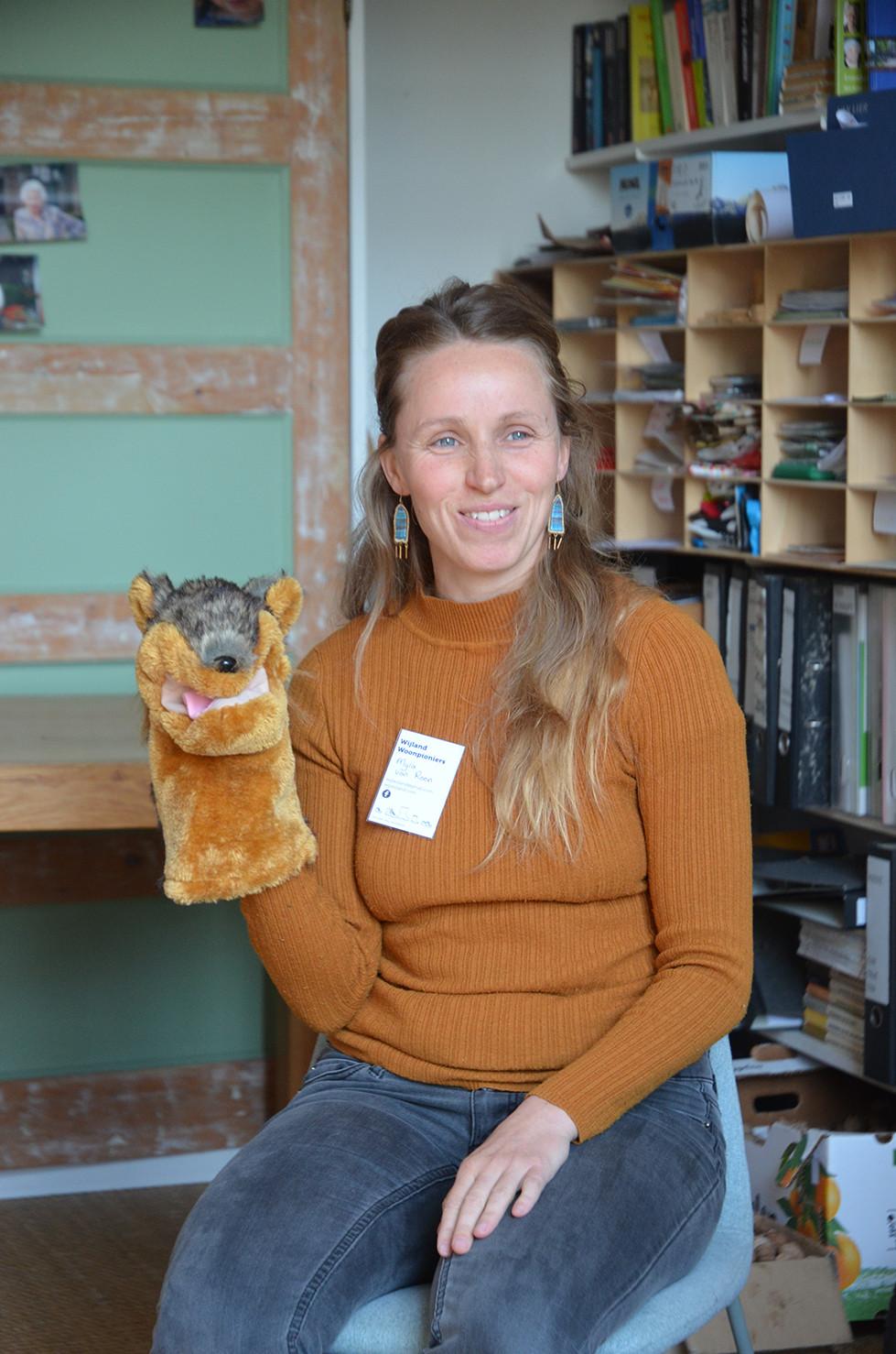 Myra tijdens een van onze workshops Compassievolle Communicatie