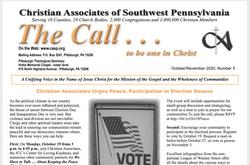 October 2020 Call Newsletter