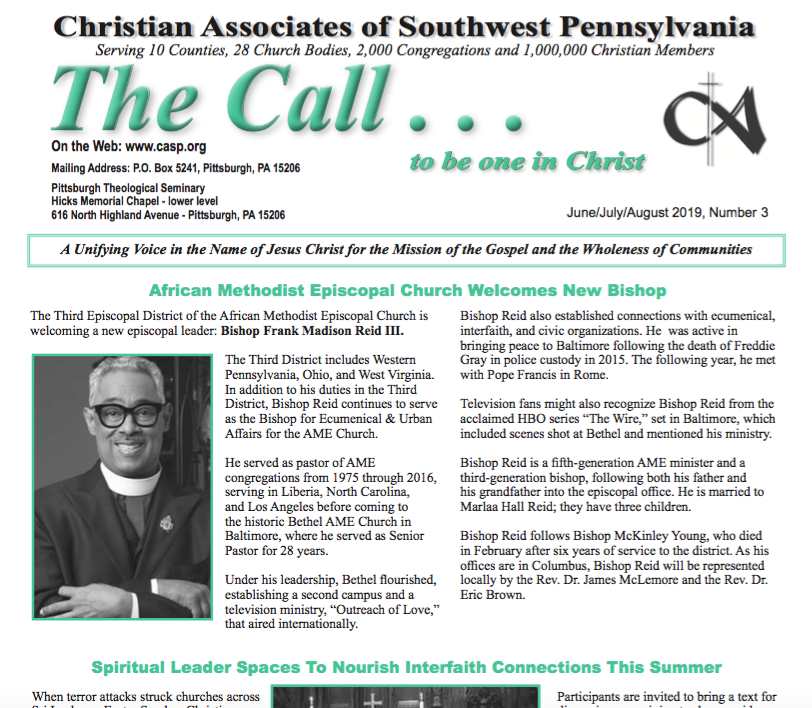 The Call: Christian Associates of Southwest PA