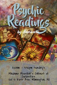 Copy of psychic tarot reading poster tem