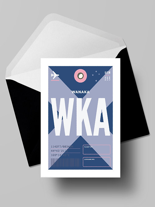 COME FLY WITH ME: WKA CARD (wholesale)