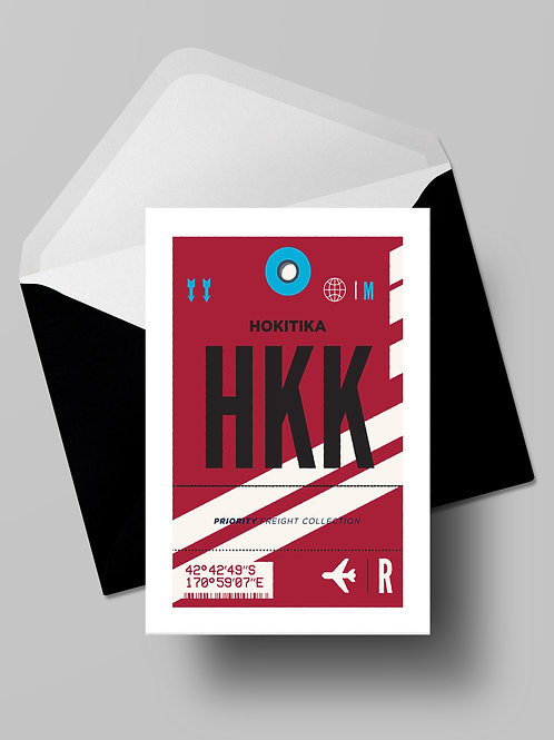 COME FLY WITH ME: HKK CARD (wholesale)