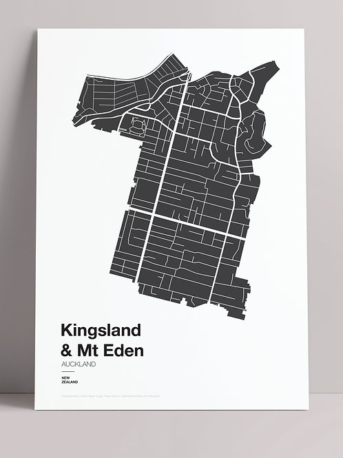 SIMPLY SUBURBS: KINGSLAND & MT EDEN (wholesale)
