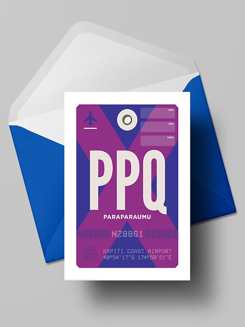 COME FLY WITH ME: PPQ CARD (wholesale)