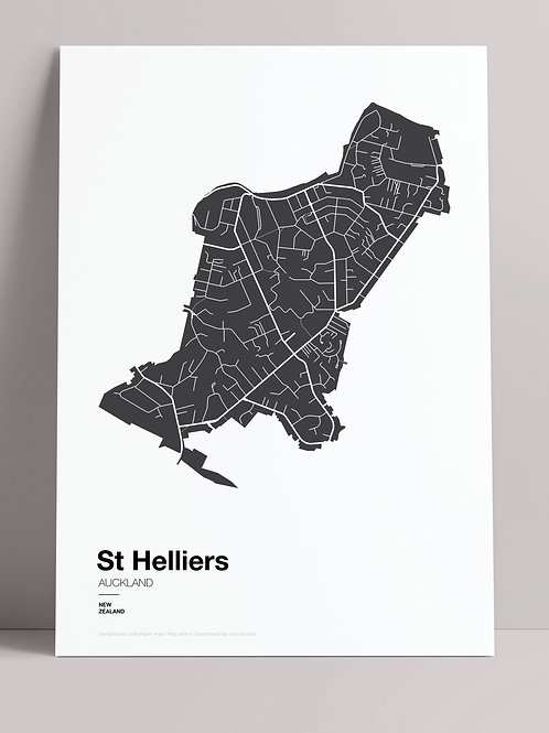 SIMPLY SUBURBS: ST HELLIERS (wholesale)