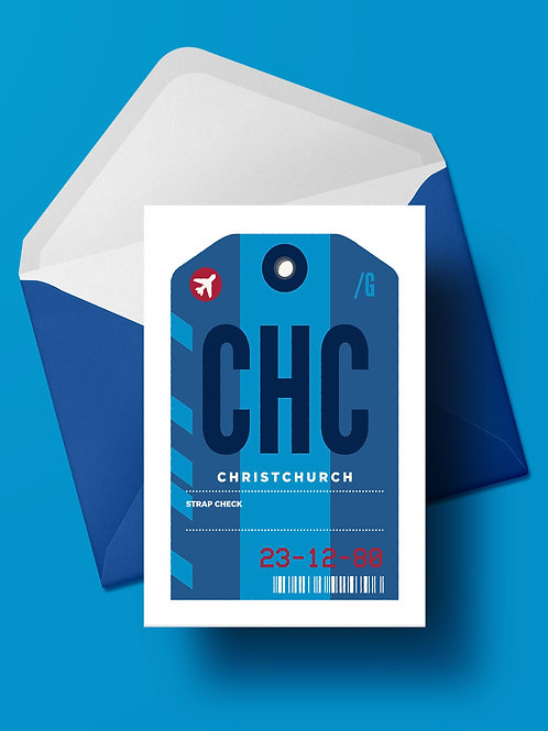 COME FLY WITH ME: CHC CARD (wholesale)