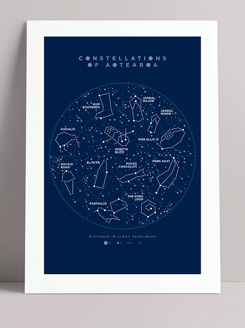 CONSTELLATIONS OF AOTEAROA (wholesale)