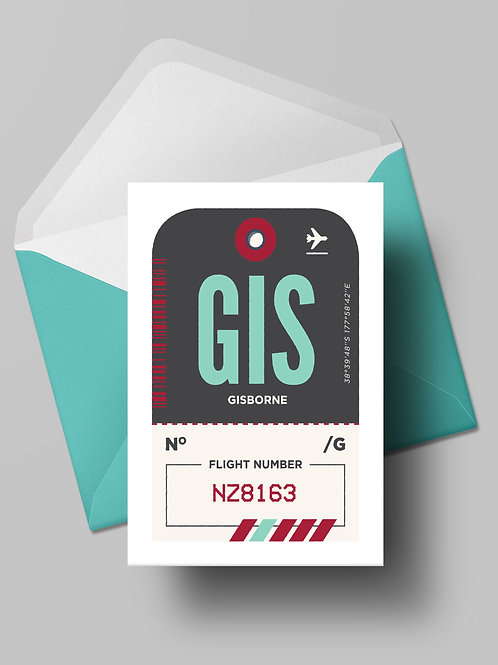 COME FLY WITH ME: GIS CARD (wholesale)