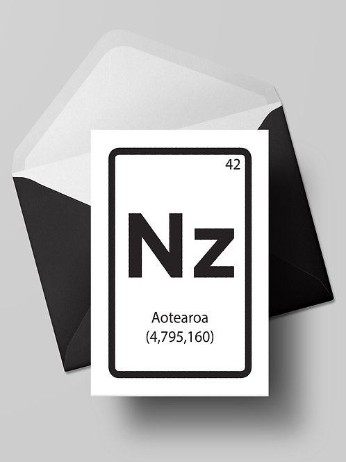 THE ELEMENT OF NZ CARD (wholesale)