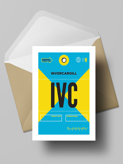 COME FLY WITH ME: IVC CARD (wholesale)