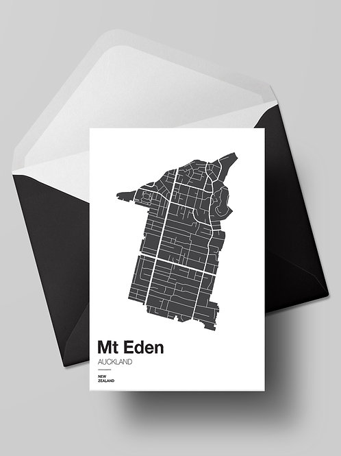 SIMPLY SUBURBS: MT EDEN CARD (wholesale)