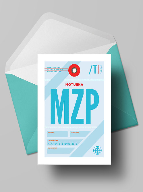COME FLY WITH ME: MZP CARD (wholesale)