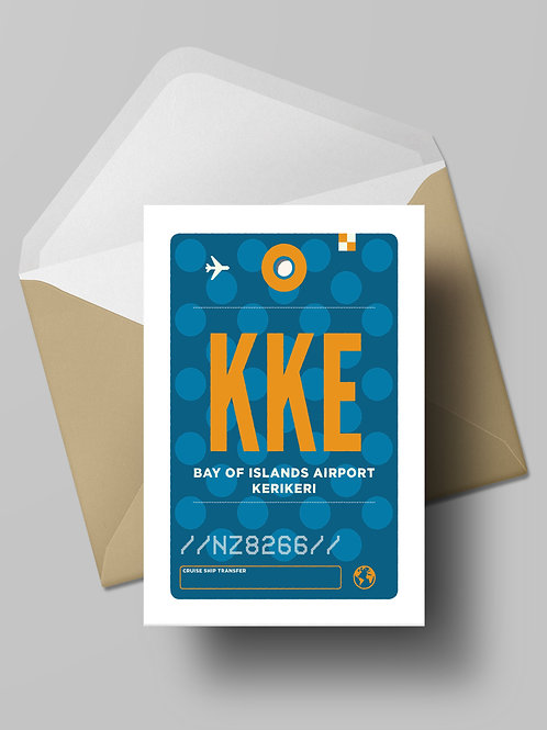 COME FLY WITH ME: KKE CARD (wholesale)