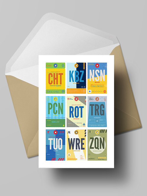 COME FLY WITH ME: NZ TWO CARD (wholesale)