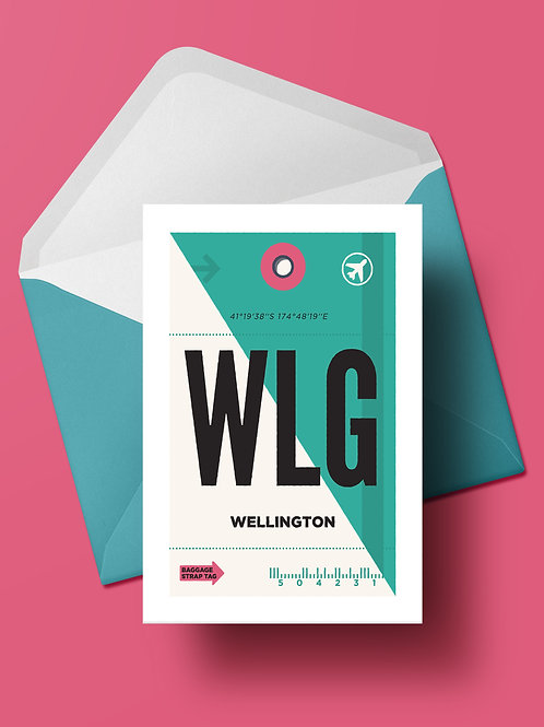 COME FLY WITH ME: WLG CARD (wholesale)