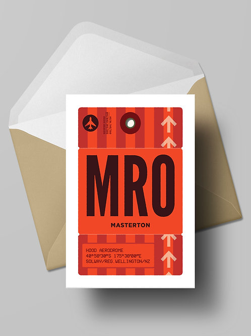 COME FLY WITH ME: MRO CARD (wholesale)
