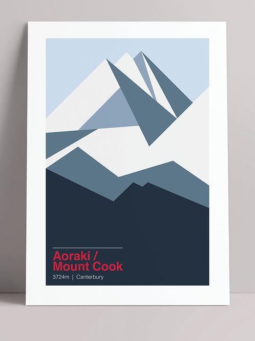LANDMARKS: AORAKI / MT COOK