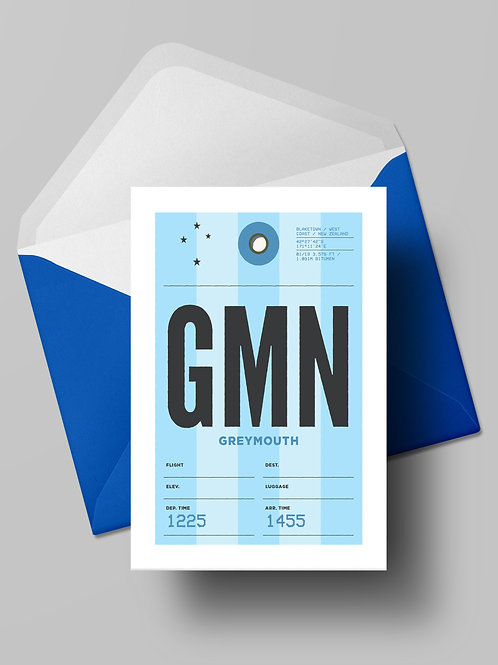 COME FLY WITH ME: GMN CARD (wholesale)