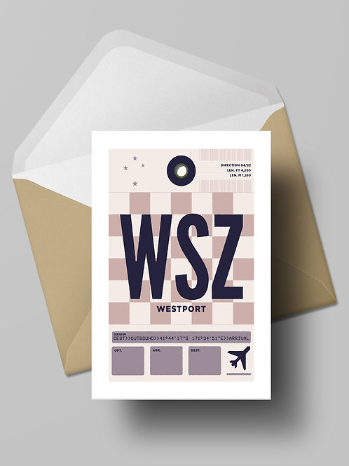 COME FLY WITH ME: WSZ CARD (wholesale)