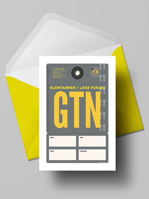 COME FLY WITH ME: GTN CARD (wholesale)