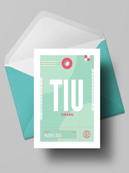 COME FLY WITH ME: TIU CARD (wholesale)