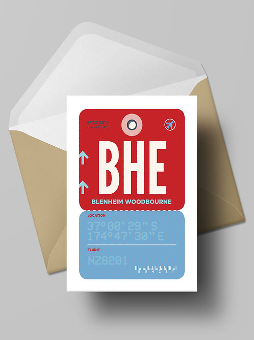 COME FLY WITH ME: BHE CARD (wholesale)