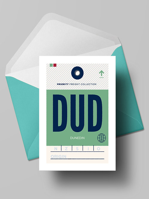 COME FLY WITH ME: DUD CARD (wholesale)