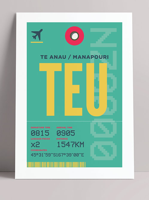 COME FLY WITH ME: TEU (wholesale)