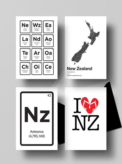 NZ CARD SET