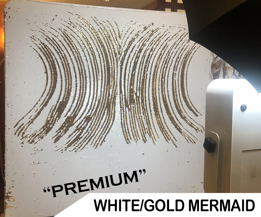 White/Gold Mermaid
