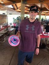 Spin Art Frisbees at Denver Event