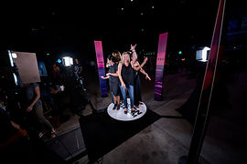 360 Photo Booth at a Denver Grand Opening