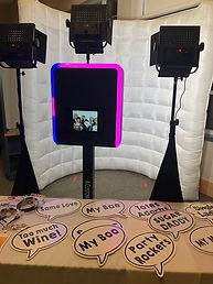 Flip Book Photo Booth Setup