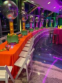Bat Mitzvah Setup