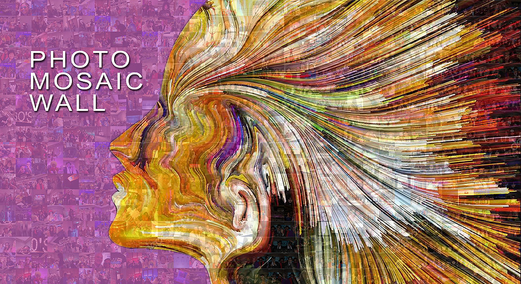 Photo Mosaic Wall Artwork