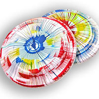 Spin Art Frisbees