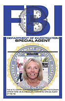 FBI ID card station