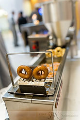 Mini Donut  Machine in Action