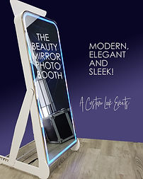 Mirror Photo Booth Rental