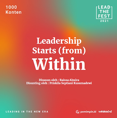 Leadership Start (from) Within