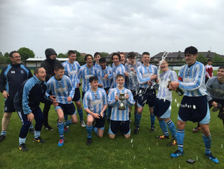 Double celebrations for u17 Rockets