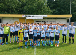 Friendly matches at Kidsgrove Athletic FC