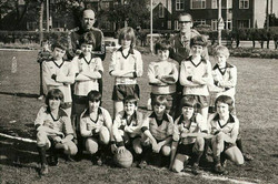 UAJFC under 11 team 1977/78
