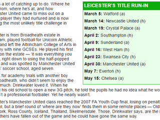 Unicorn Athletic JFC in the papers - Daily Mail article
