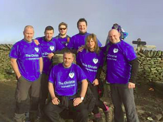 Move Any Mountain - coaches complete Yorkshire 3 peaks
