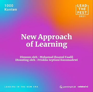 New Approach of Learning