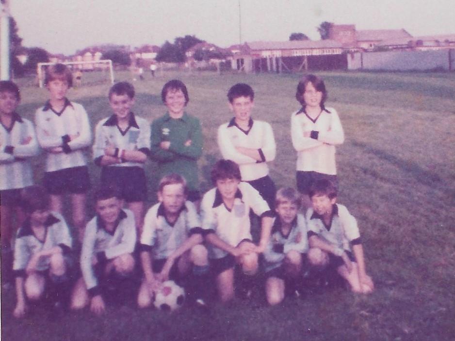 UAJFC u10 team 1979/80