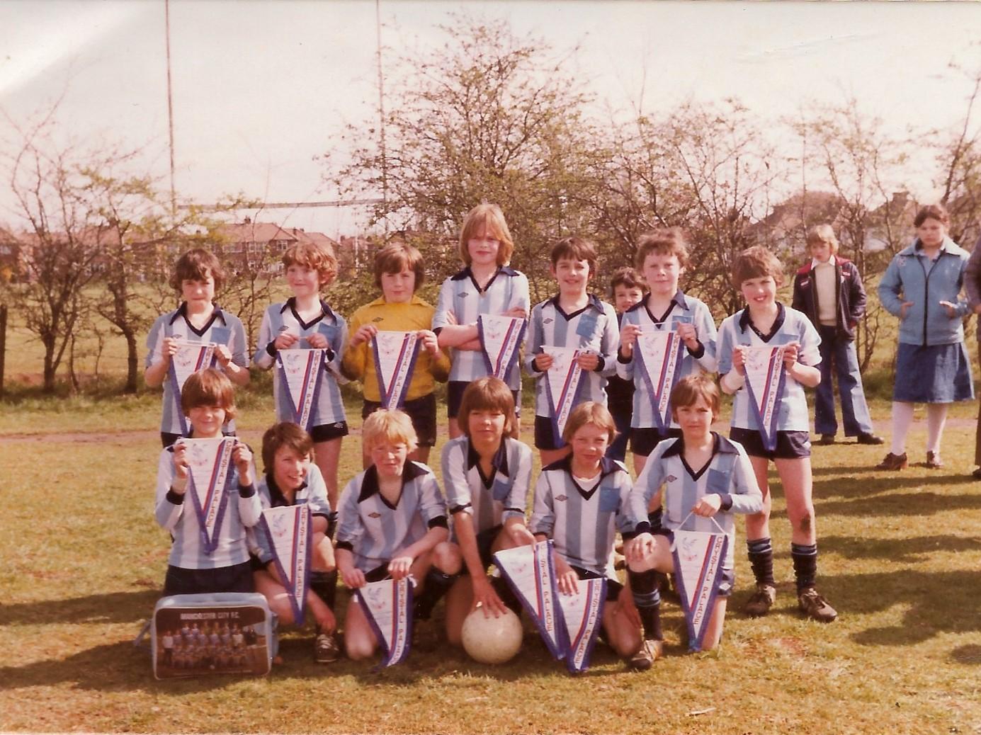 UAJFC u13 team 1979/80