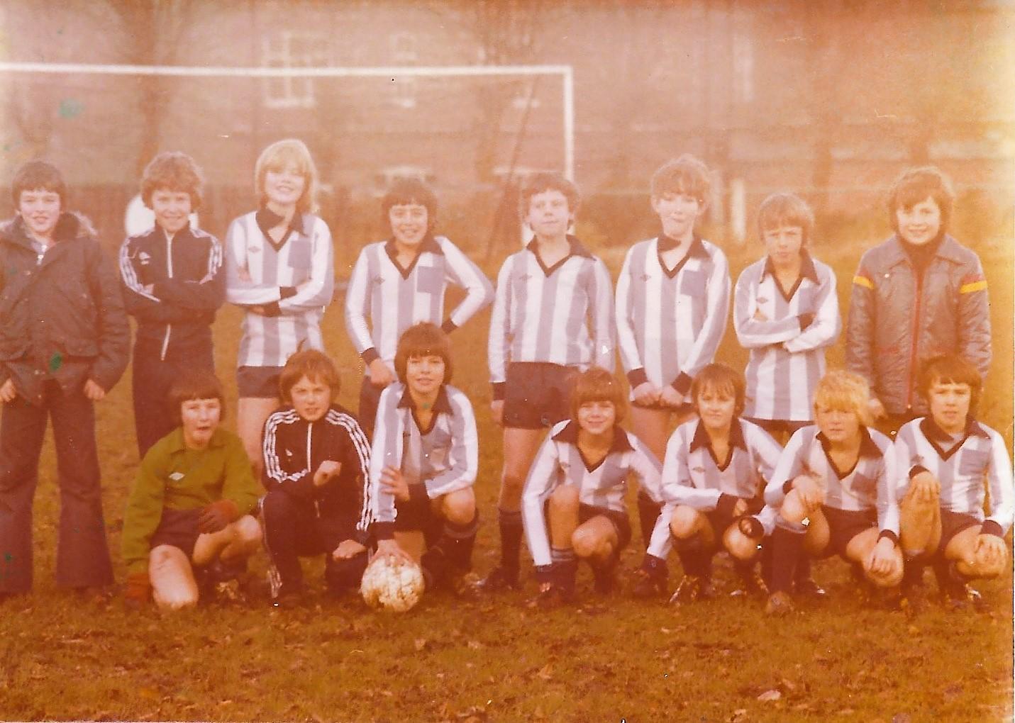 UAJFC u12 team 1978/79
